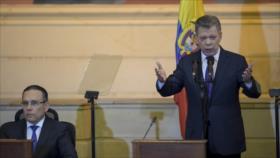 Santos: Colombia debe seguir a la vanguardia contra Venezuela