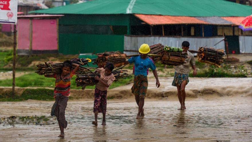 'Myanmar viola convención de ONU sobre niños al perseguir a rohingyas'