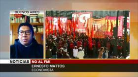 Mattos: Medidas tomadas del FMI en Argentina van al fracaso