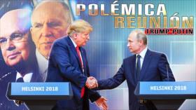 Detrás de la Razón: Trump traidor, es agente de Putin, o Rusia cae en la trampa