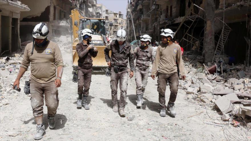 Israel evacúa a 800 Cascos Blancos del sur de Siria