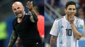 """Jugadores argentinos a Sampaoli: """"Ya no confiamos en vos"""""""