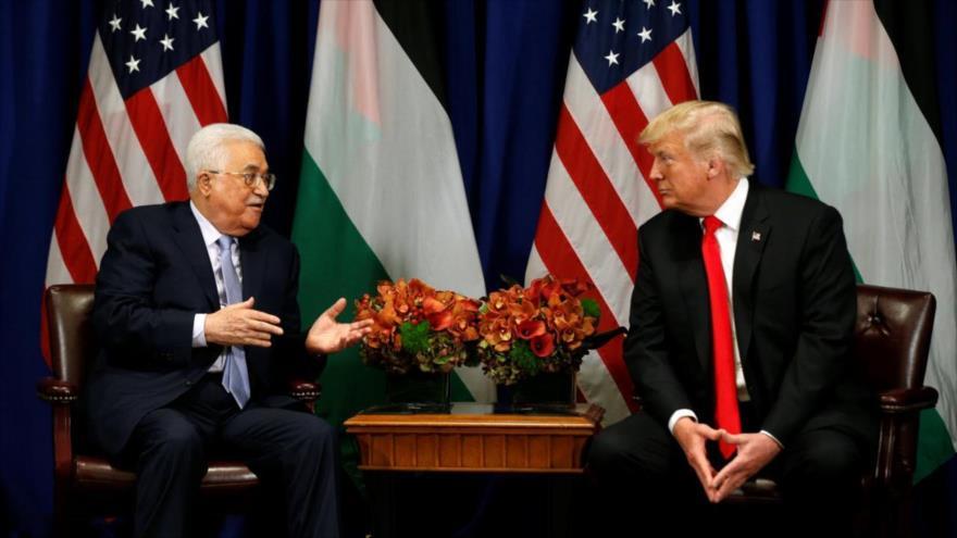 """Gobierno palestino tacha de """"conspiración"""" el plan de paz de EEUU"""