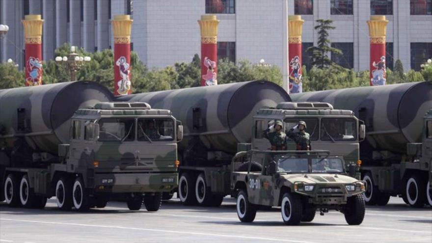 'China debe reforzar su arsenal nuclear ante agresiones de EEUU'
