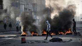 Bareiníes levantan barricadas en defensa de presos políticos