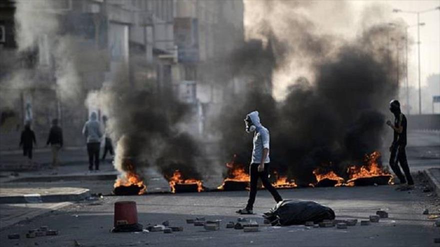 Bareiníes levantan barricadas ardientes en defensa de presos políticos