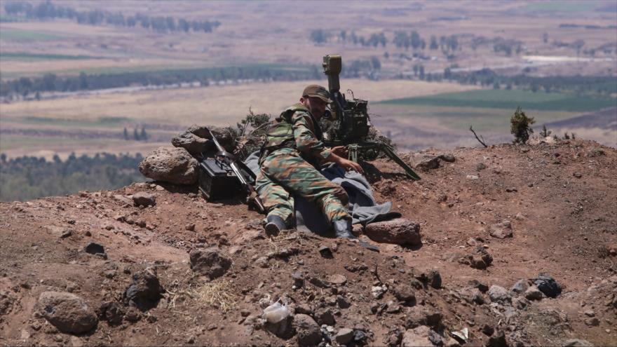 Ejército sirio recupera la última fortificación terrorista en Daraa