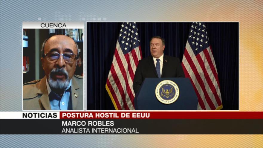 Robles: Agresión de EEUU se manifiesta en sus amenazas a Irán