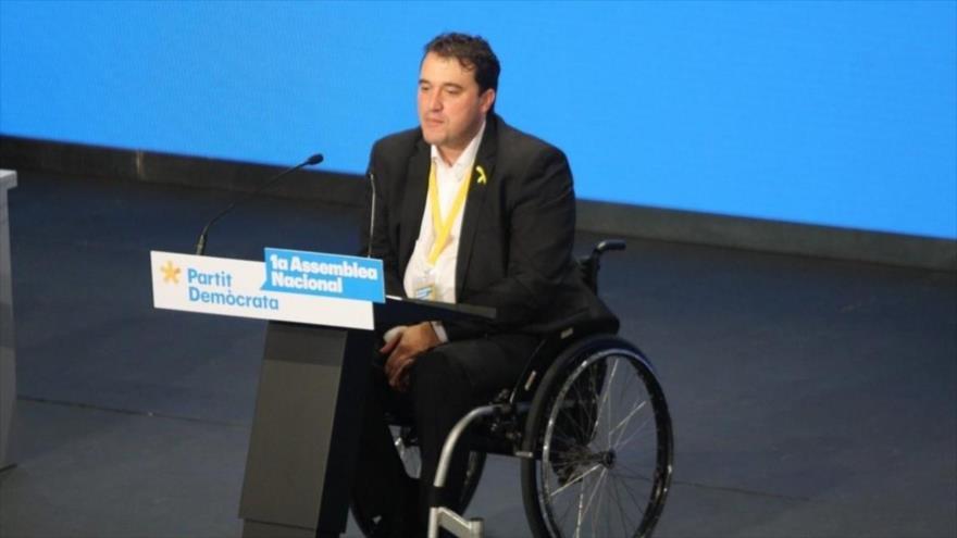 David Bonvehí, el nuevo presidente delPartido Demócrata Europeo Catalán (PDeCAT).