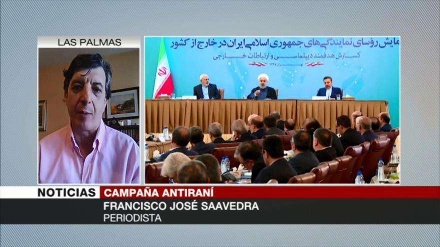 Saavedra: EEUU encubre a verdaderos patrocinadores de terrorismo