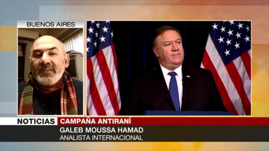 Galeb Moussa: EEUU siempre muestra su política hostili hacia Irán
