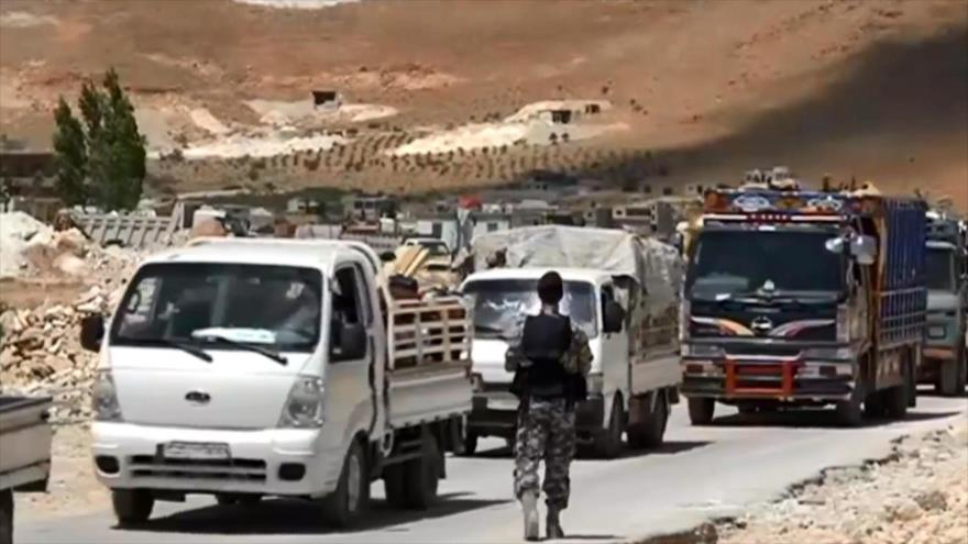 El Líbano acelera el retorno de refugiados a Siria