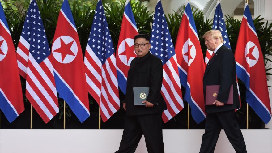 Pyongyang no seguirá diálogo si EEUU rechaza firmar tratado de paz