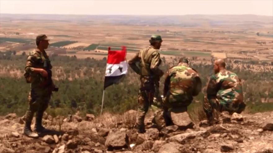 Se acerca la gran victoria del Ejército sirio en el sur