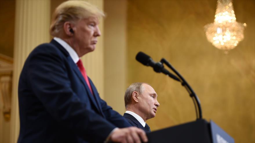 'Tuit antiraní de Trump busca distraer la atención de cumbre con Putin'