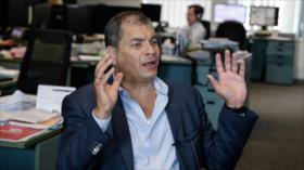 Justicia de Ecuador ratifica orden de prisión preventiva de Correa