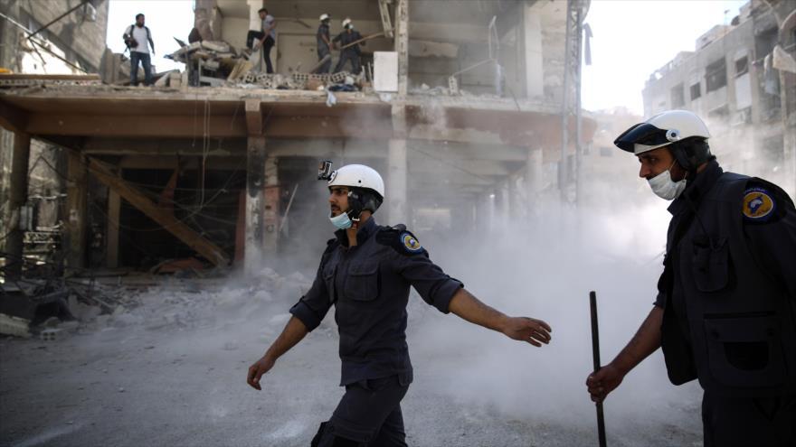 Rusia: huida de Cascos Blancos de Siria mostró su hipocresía al mundo