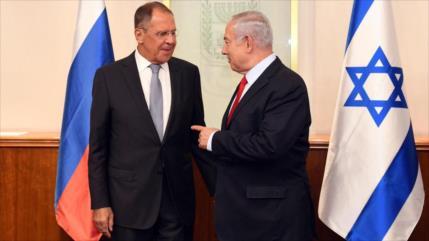 Netanyahu repite fanfarronadas antiraníes en reunión con Lavrov