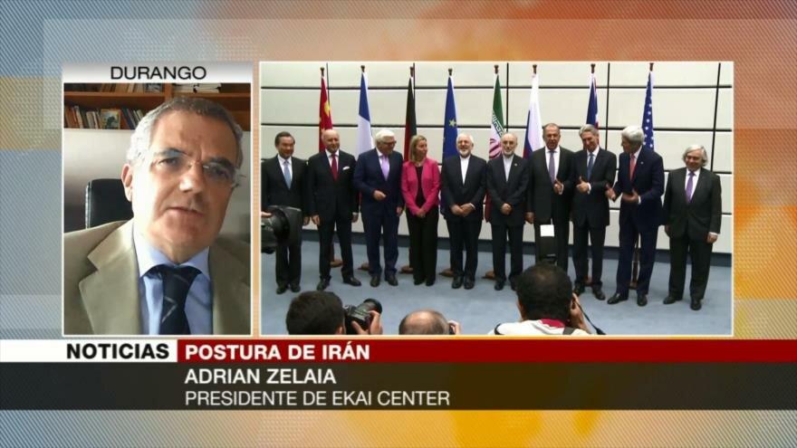 Zelaia: Trump intenta mantener imagen de ala dura contra Irán