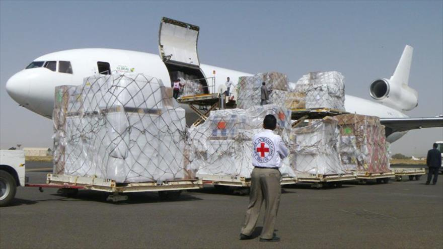 Cazas saudíes interceptan a avión del CICR tras despegar de Yemen