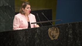 Gobierno de Cuba vuelve a defender la causa Palestina en la ONU