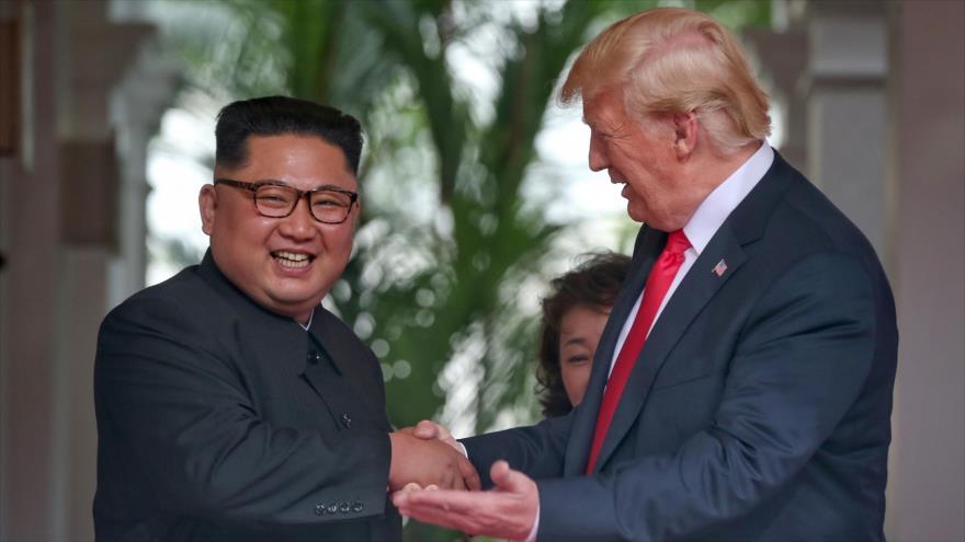 """""""Política de fuego y furia de Trump contra Pyongyang no funciona sobre Irán"""""""
