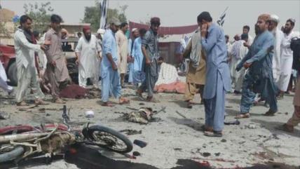 Atentado terrorista contra electores en Paquistán deja 30 muertos