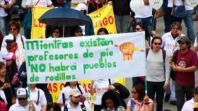 Maestros paran actividades por 24 horas en Colombia