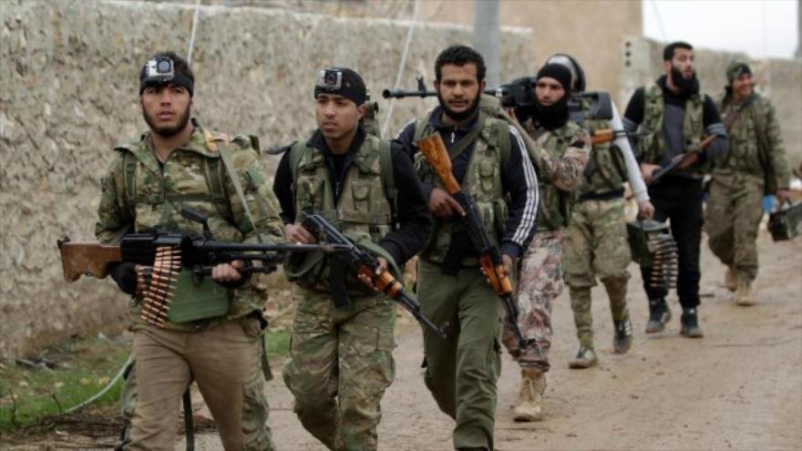 Varios grupos terroristas forman nueva alianza contra Ejército sirio