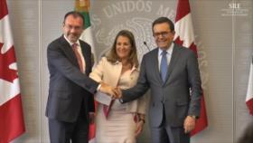 México retoma mesa del TLCAN en medio de guerra comercial de EEUU