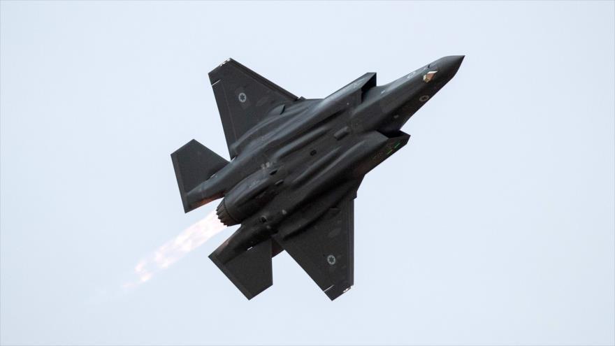 F35 israelí apareció en rastreadores de vuelos en la web