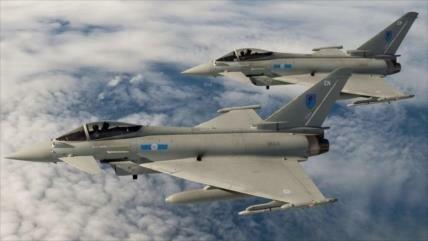 Cazas británicos interceptan a Sujoi ruso sobre el mar Negro