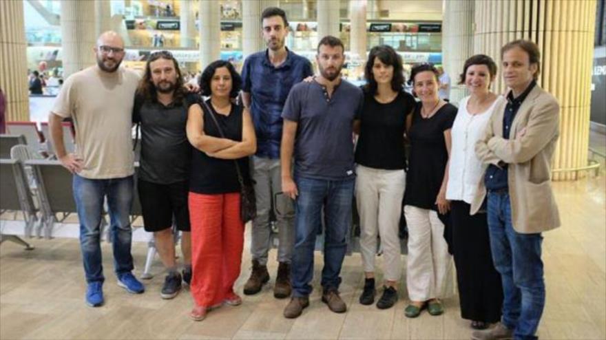 Israel deporta a activista que coordinaba una visita de Podemos