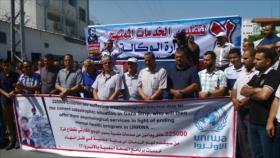 Mil trabajadores de la UNRWA han sido despedidos