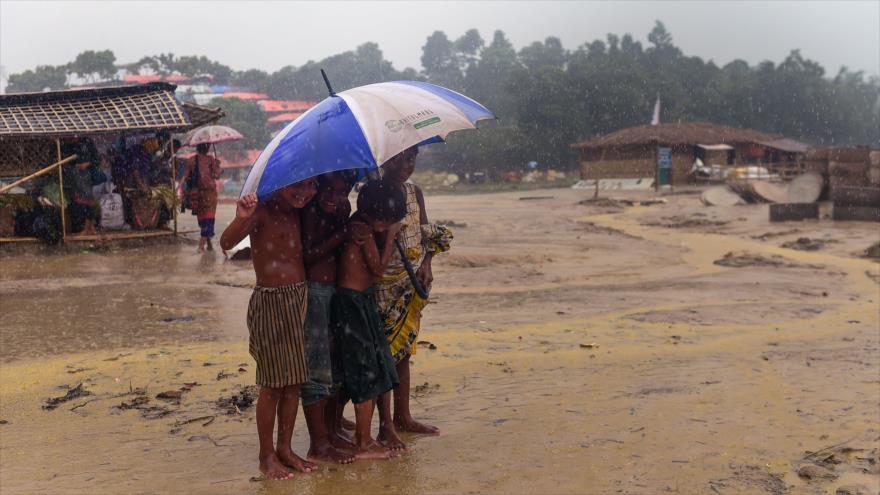 '485 000 niños rohingyas, expuestos a todo tipo de enfermedades'