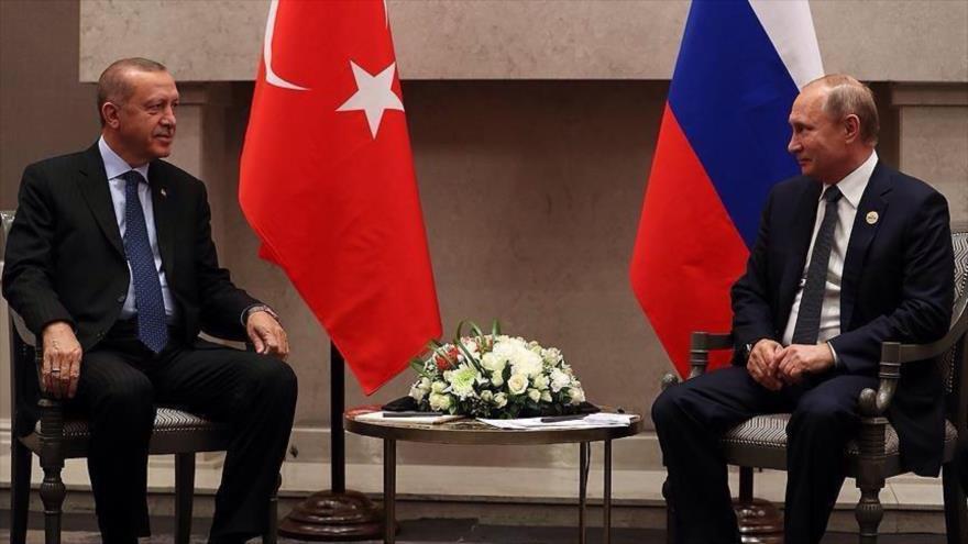Erdogan: Estrecho lazo Turquía-Rusia provoca celos de 'algunos'