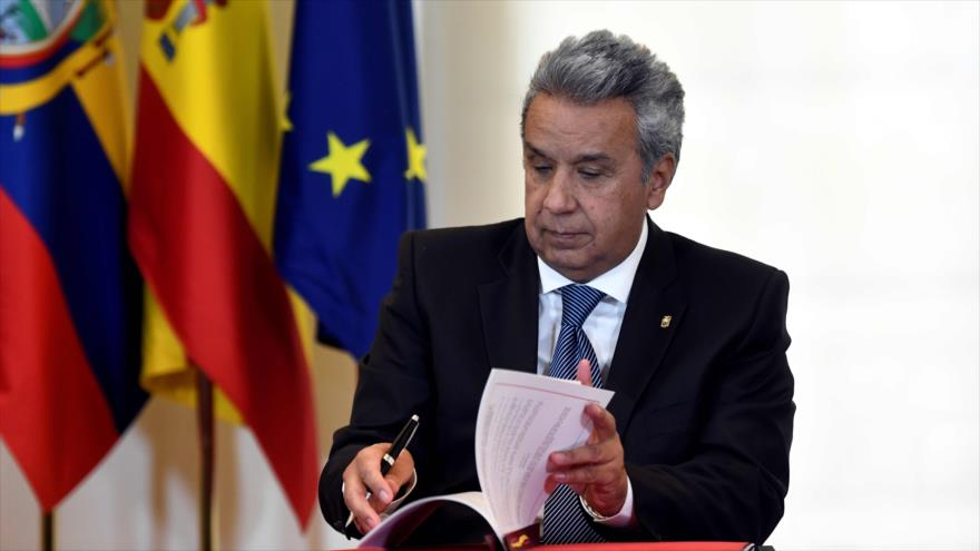 Moreno: Assange debe abandonar la embajada de Ecuador