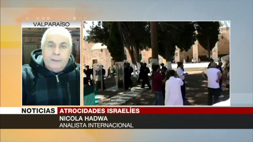 Hadwa: Comunidad internacional no defiende derechos de palestinos