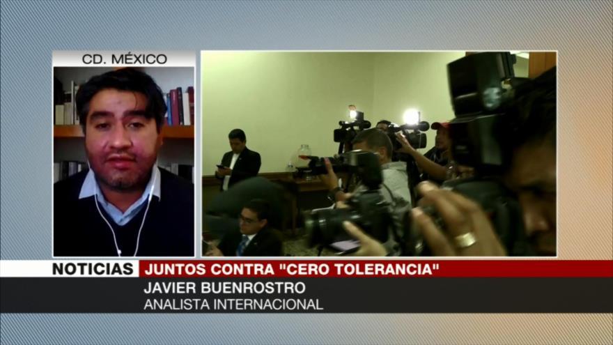 Buenrostro: Tolerancia cero contra migrantes es práctica inhumana