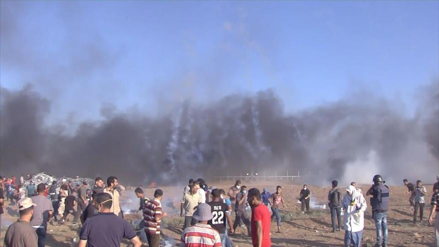 Palestinos continúan sus marchas para repugnar crímenes israelíes