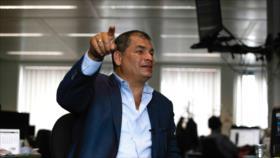 Correa: Moreno pactó en secreto con EEUU revocar asilo a Assange