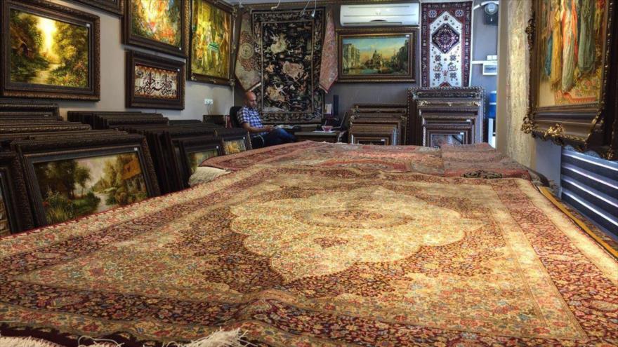 Irán demandará a EEUU por sus sanciones a la alfombra persa
