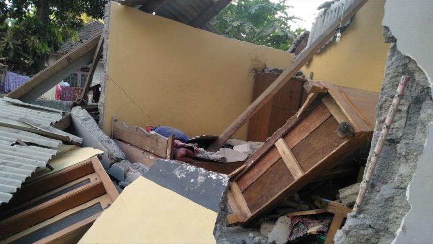 Potente terremoto de 6.4 grados dejó cuantiosos daños materiales | FOTOS — Indonesia
