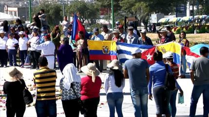 Manifestaciones en Ecuador en defensa de Unasur