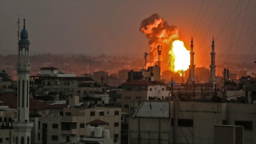 Nuevo bombardeado israelí en Gaza deja dos palestinos muertos