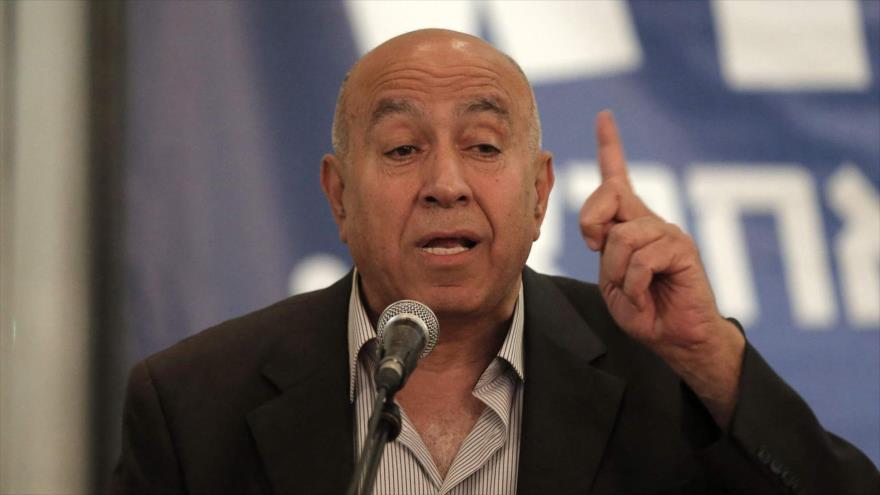 Diputado israelí dimite en rechazo a 'racista' ley 'estado-nación'