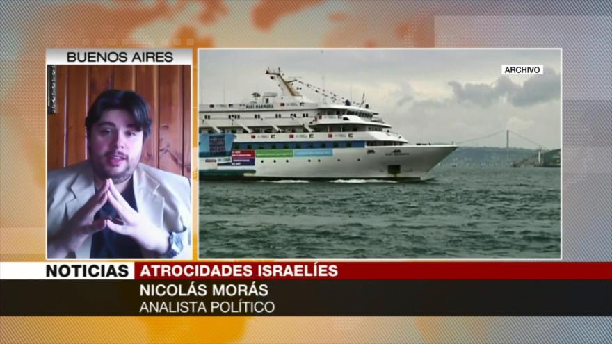 Israel intercepta un barco europeo que intentaba romper el bloqueo de Gaza