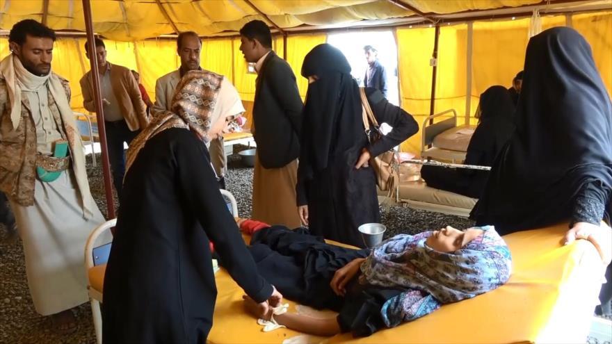 En medio de ataques saudíes, Yemen alerta de nuevo brote de cólera