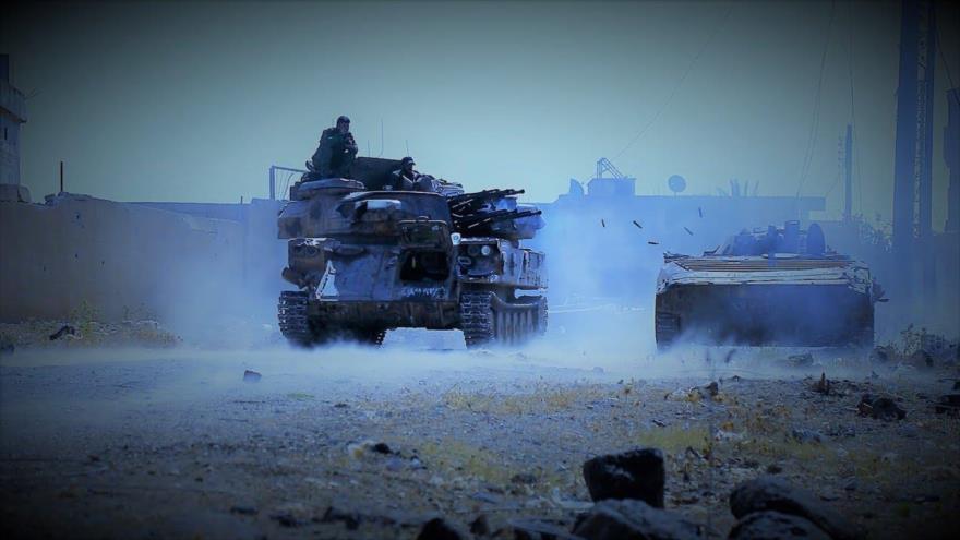 Ejército sirio ataca a Daesh en Al-Sweida para liberar a civiles rehenes