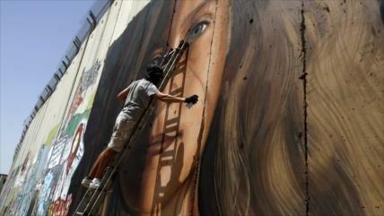 Israel detiene a pintores de retrato de Ahed Tamimi